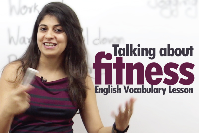 English lesson to learn vocabulary