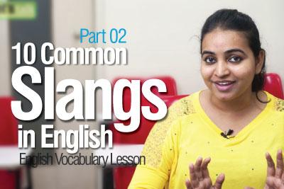 slangs in English