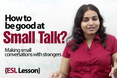 English Conversation lesson for ESL Learners