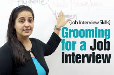Grooming tips for a Job Interview.