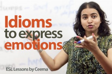 Idioms to express Emotions