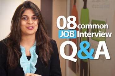 08 common JOB Interview Question and Answers.