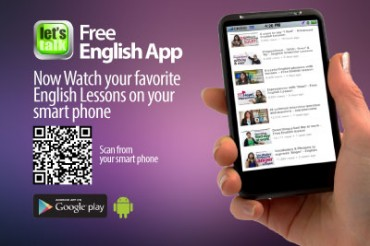 Free Mobile ( Android) app to learn English.