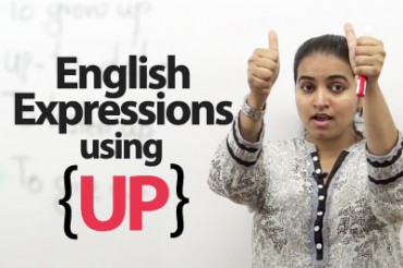 English Expressions using 'UP'