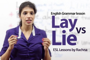 The difference between 'Lay' and 'Lie'