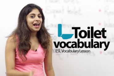 Toilet Vocabulary