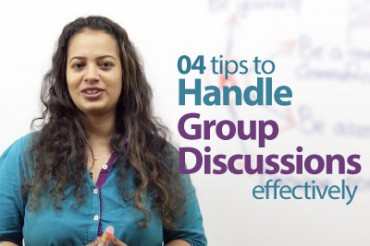 04 tips to handle Group Discussions effectively