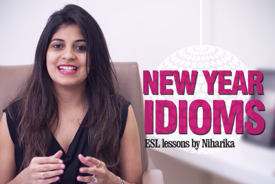 Idioms for the New Year - Free English Speaking lessonsIdioms for the New Year - Free English Speaking lessons
