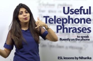 Useful Telephone Phrases