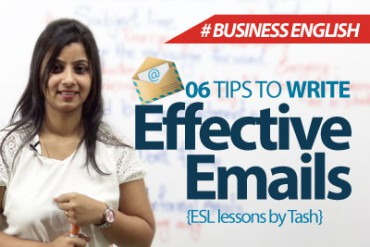 06 tips to write effective emails.