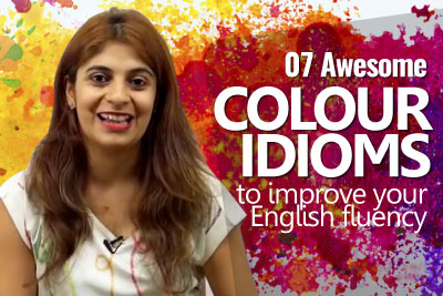 Learn English color idioms to improve your English fluency and speak English confidently