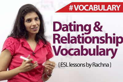 Dating and relationship Vocabulary - Spoken English Lesson