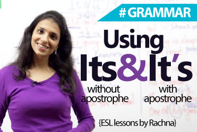 English Grammar Lesson - The difference between it's and its ( Learn English )