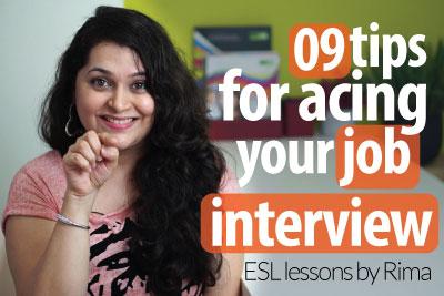 9 tips for acing your next job interview ( Job Interview skills)