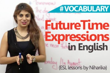 Common Future Time Expressions in English