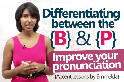 - English Accent Lesson to improve pronunciation