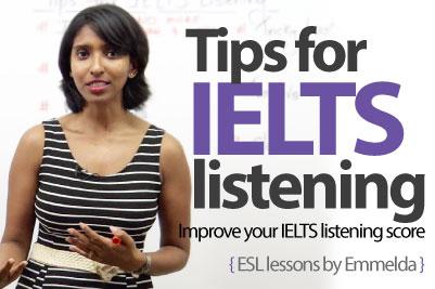 Tips for ielts listening test