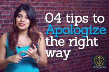 How to apologize the right way? – Skillopedia