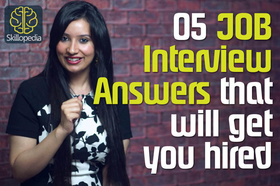 personality development video by skillopedia to practice job interview skills, interview questions and interview answers