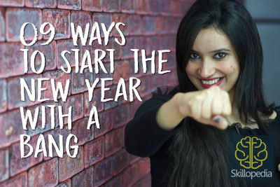 Skillopedia Video - How to start a new year with a bang- New Year Resolutions