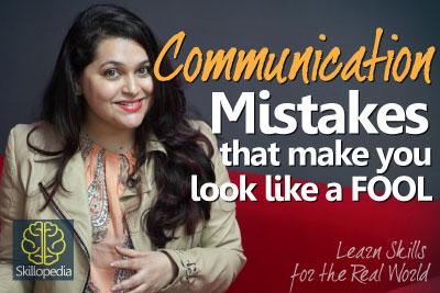 Improve Communication Skills – Don't look like a fool | Speak Confidently | Personality Development.