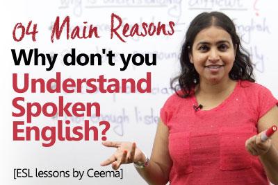 Understand spoken English and learn to speak fluent English - Spoken English Lesson