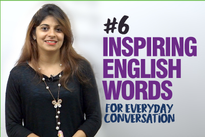 8 Inspiring English Words For Daily English Conversation   English Vocabulary Lesson   Learn English With Niharika