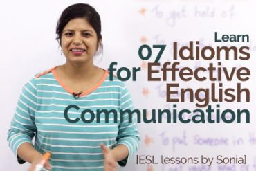 Learn 07 English idioms for effective communication