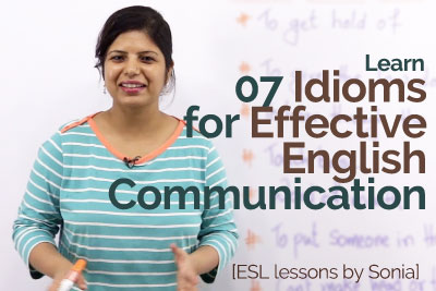 Practice English speaking for Effective communication skills with English idioms