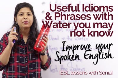 English idioms and phrases to improve your English speaking and speak English fluently & confidently