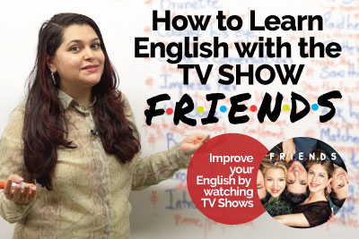 How to learn English through TV Shows. Improve your English speaking.