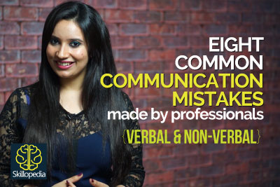 Communication skills mistakes made in Public speaking - Video by Skillopedia