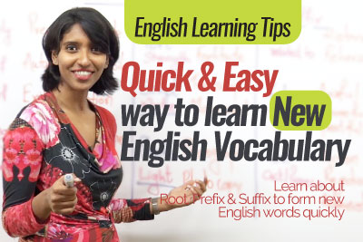 How to learn new English vocabulary - Free English speaking lessons online