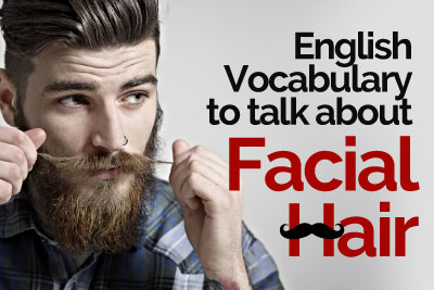 Learn English online for free. Talking about moustache & beard styles