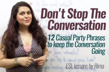 13 Casual Party Phrases to Keep the Conversation Going