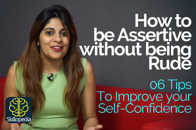 How to be assertive without being rude - Personality Development course