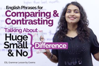 English Grammar Lesson - Adjectives - Degree of Comparison