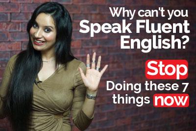 Speak fluent English - Avoid these English mistakes