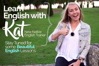 Learn English with Kat - Native English Teacher