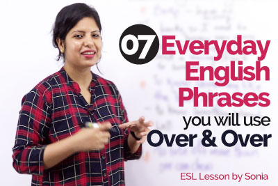 Everyday English phrases for real life conversation