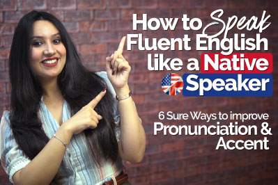 English pronunciation and accent training to learn how to speak fluent English like a native speaker.