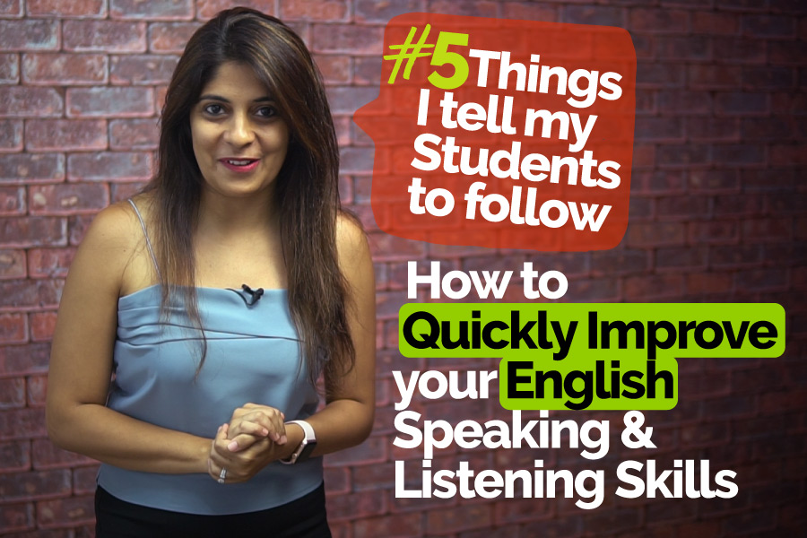 How do I improve my English speaking and listening skills quickly and easily