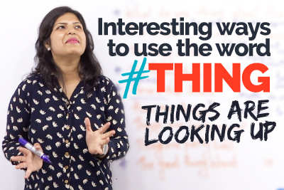 Learning English the easy way - English expressions with Thing