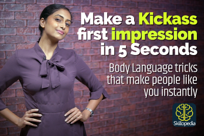 Hoe to create a first impression and be likeable - Body language tips and tricks