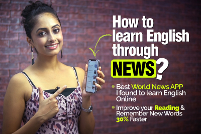 Learn and remember a new English Words daily - Learn English through News