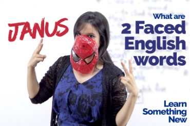 Two-Faced 🤦🏻‍♂️🤦🏻‍♂️English Words (JANUS) | English Vocabulary
