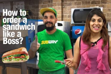 How to order a SUBWAY Sandwich🌮 like a Boss? Learn English Vocabulary & Phrases With Niharika
