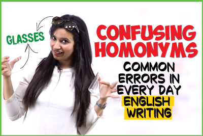 20 Most Commonly Confused Homonyms In English | Common Mistakes Made In English Writing | Learn English With Michelle