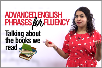 Advanced English Phrases to speak fluently   Talking about Books   Spoken English Practice Lesson with Ceema
