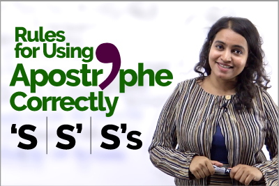Apostrophe Rules - English Grammar Lesson to Improve Writings Skills - Punctuation Marks